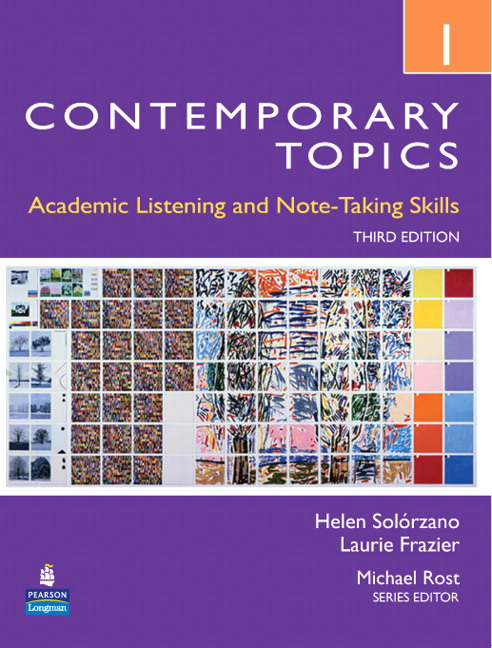 Contemporary Topics 1, Streaming Video