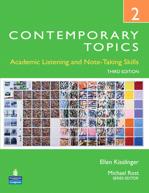 Contemporary Topics 2, Streaming Video