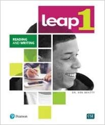 LEAP Reading and Writing Level 1 eText with My eLab