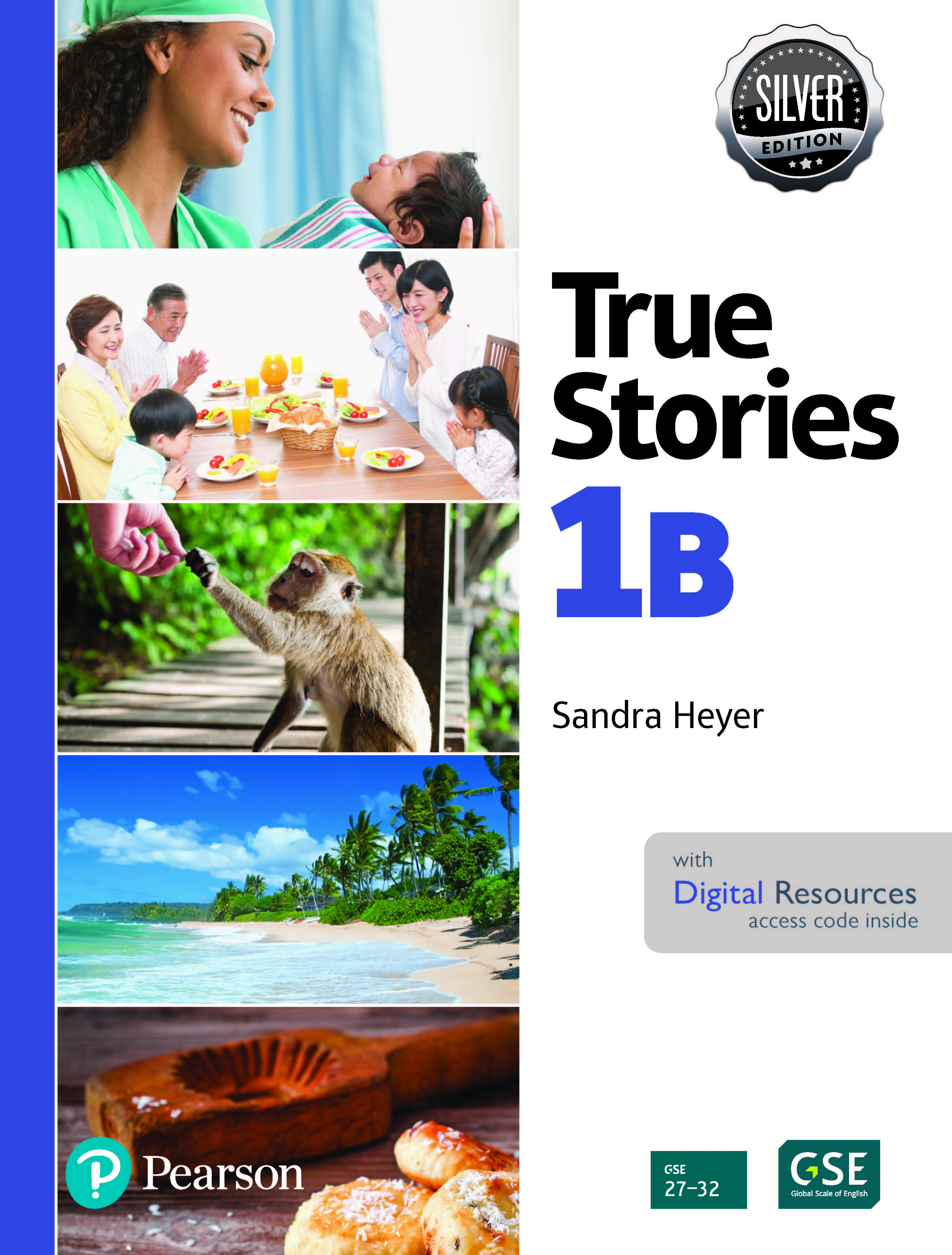 True Stories 1B Digital Book with Essential Online Resources