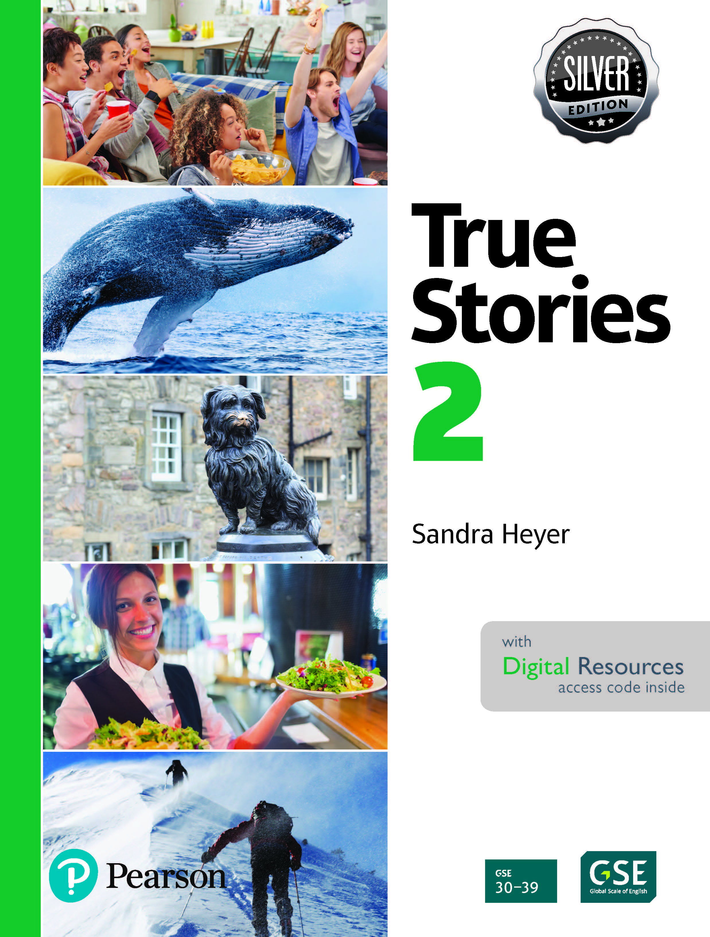 True Stories 2 Digital Book with Essential Online Resources