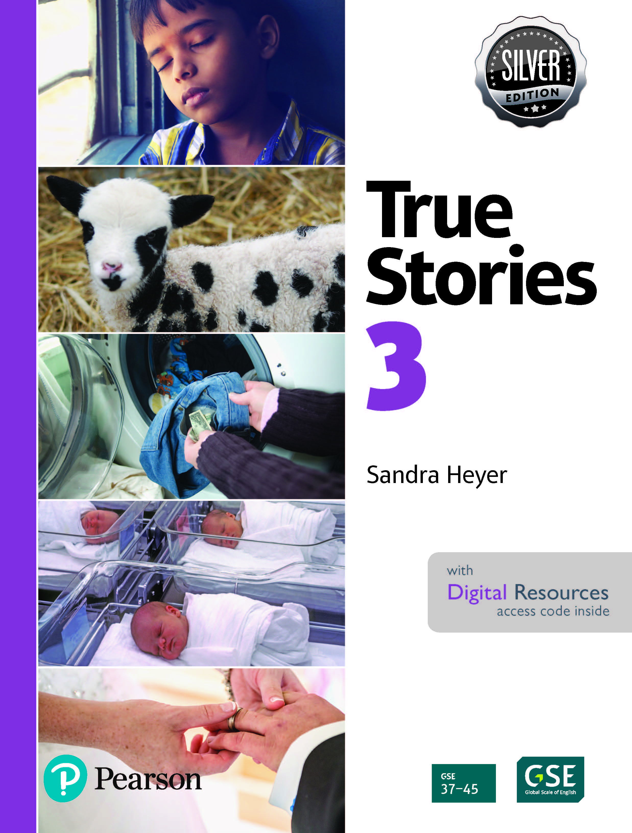 True Stories 3 Digital Book with Essential Online Resources