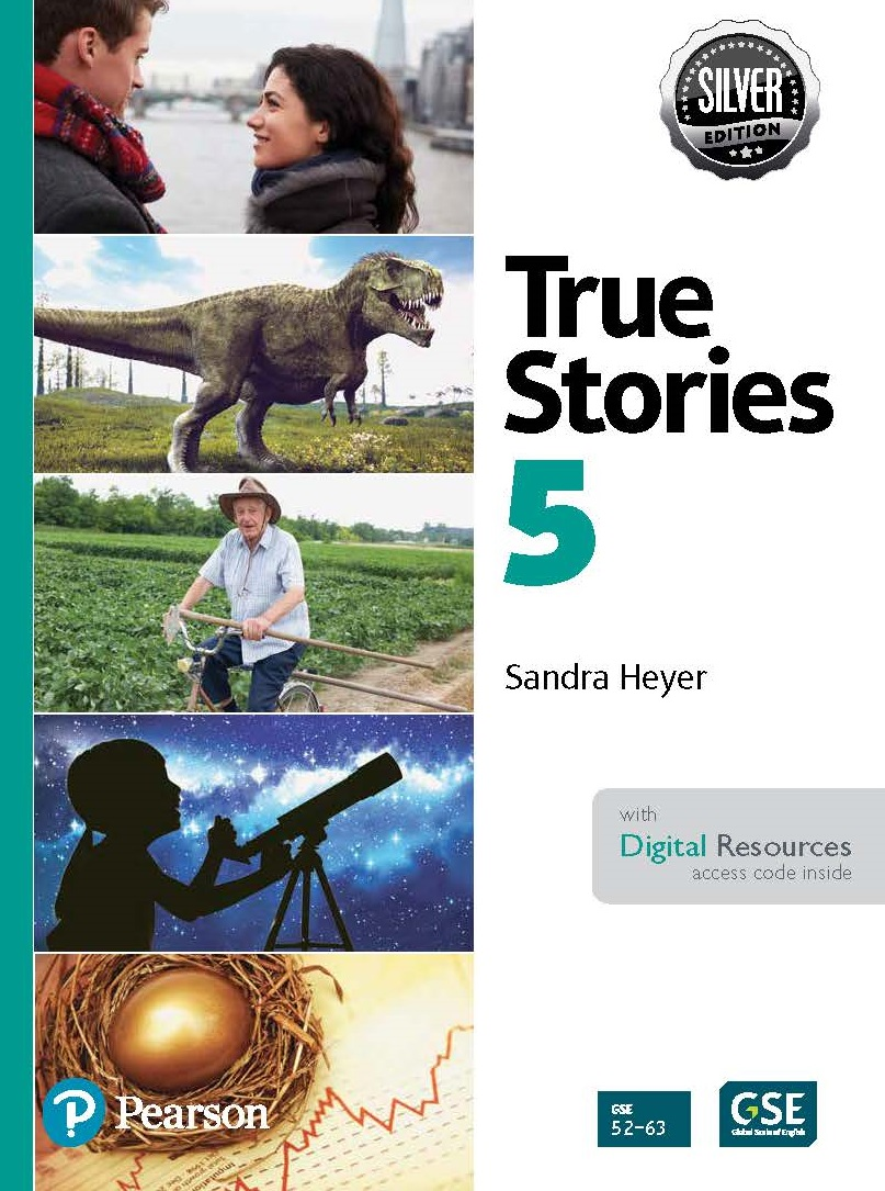 True Stories 5 Digital Book with Essential Online Resources